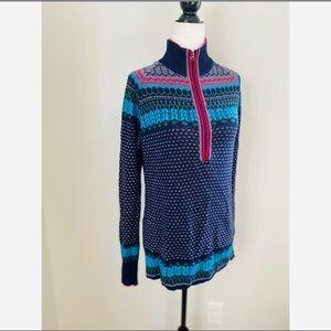 Eddie Bauer Fair Isle Women's Pullover Sweater